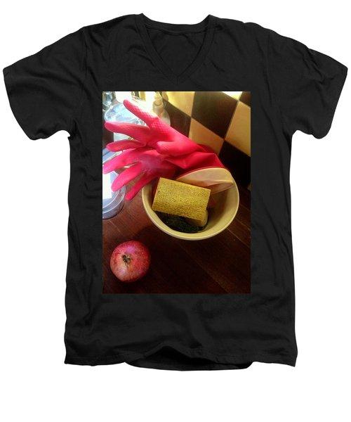 Domesticity Men's V-Neck T-Shirt