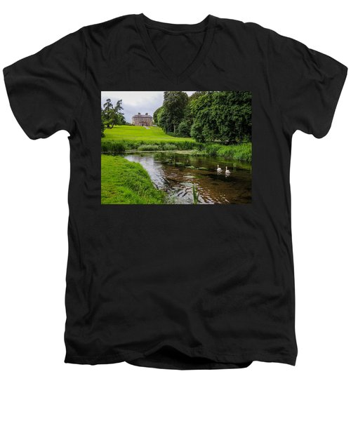 Doneraile Court Estate In County Cork Men's V-Neck T-Shirt