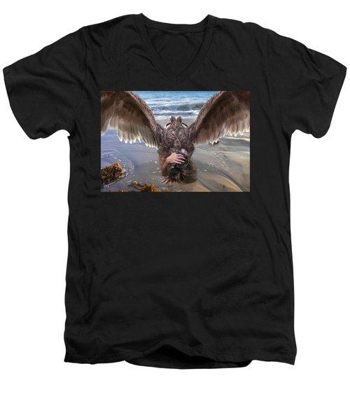 Don't Deny Him Men's V-Neck T-Shirt