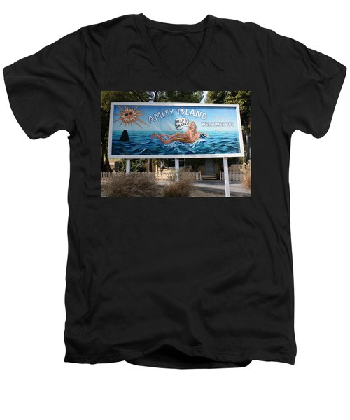 Don't Go In The Water Men's V-Neck T-Shirt