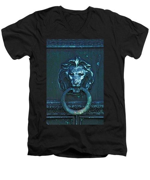 Door Knocker Men's V-Neck T-Shirt