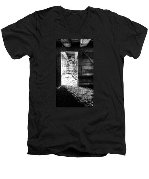 Doorway Through Time Men's V-Neck T-Shirt