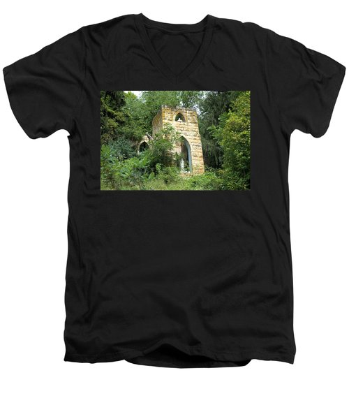 Dorchester Grotto Men's V-Neck T-Shirt