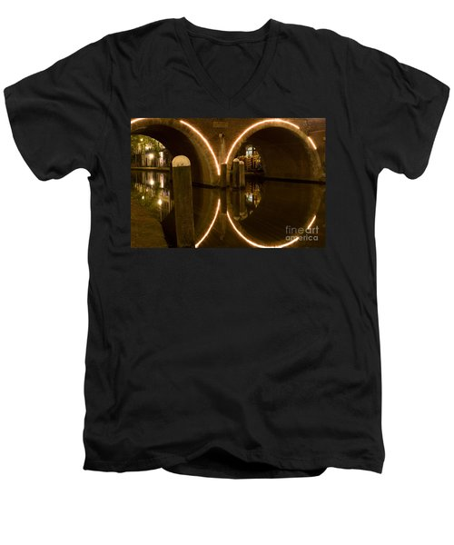 Double Tunnel Men's V-Neck T-Shirt