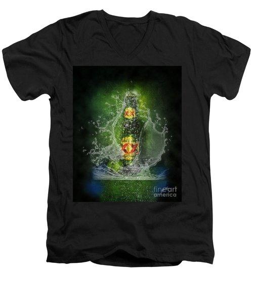 Double X Men's V-Neck T-Shirt