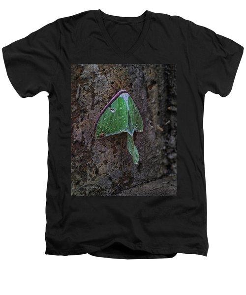 Down On The Corner Men's V-Neck T-Shirt