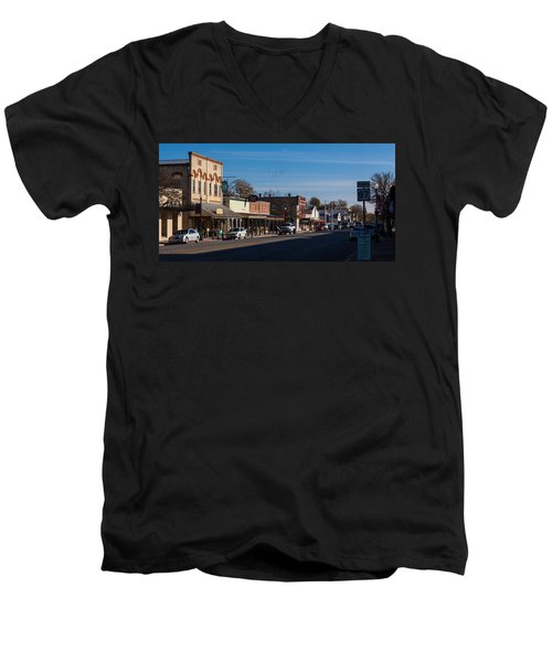 Downtown Boerne Men's V-Neck T-Shirt