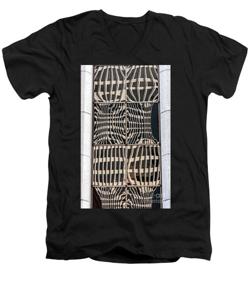 Downtown Reflection Men's V-Neck T-Shirt