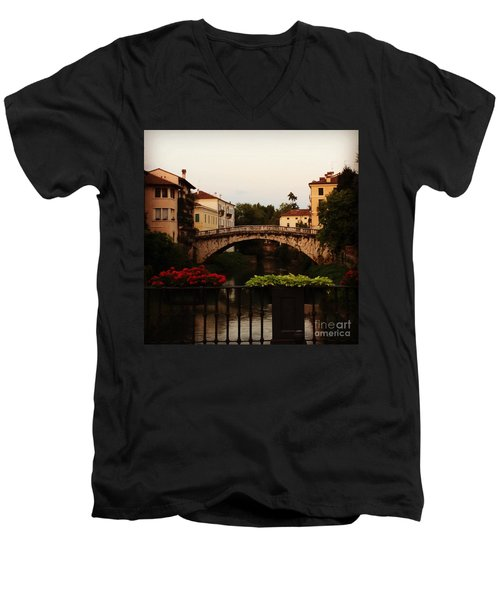 Downtown Vicenza Men's V-Neck T-Shirt