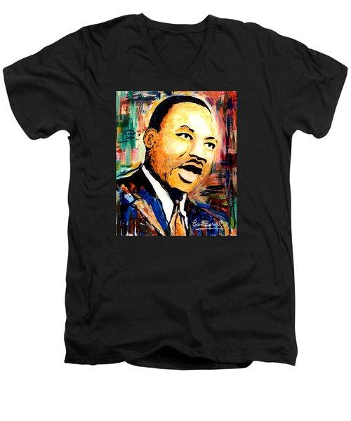 Dr. Martin Luther King Jr Men's V-Neck T-Shirt