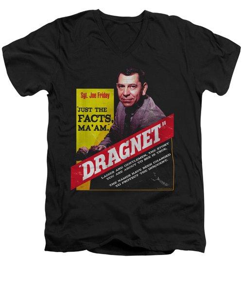 Dragnet - Pulp Men's V-Neck T-Shirt