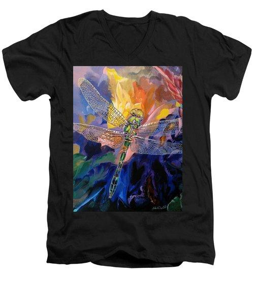 Dragon Summer Men's V-Neck T-Shirt