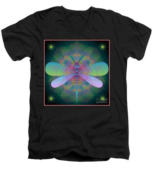 Dragonfly 2013 Men's V-Neck T-Shirt