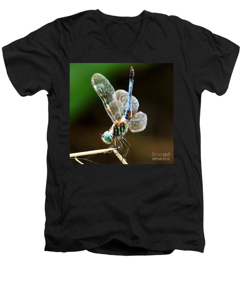 Dragonfly Headstand Men's V-Neck T-Shirt