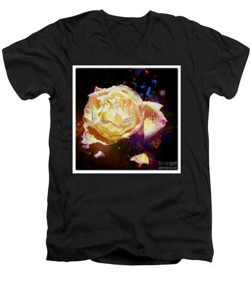 Dramatic Rose Men's V-Neck T-Shirt