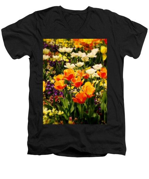 Dreaming In Color Men's V-Neck T-Shirt