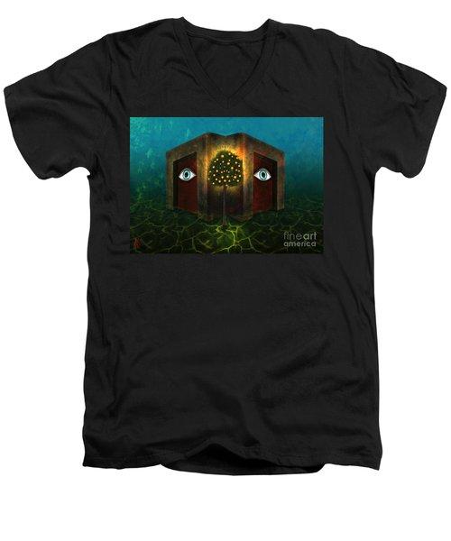 Dreams Do Not Sleep Men's V-Neck T-Shirt