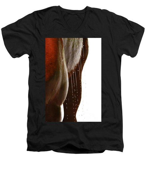 Drip Dry Men's V-Neck T-Shirt