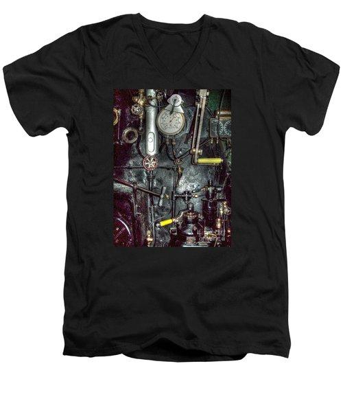 Driving Steam Men's V-Neck T-Shirt