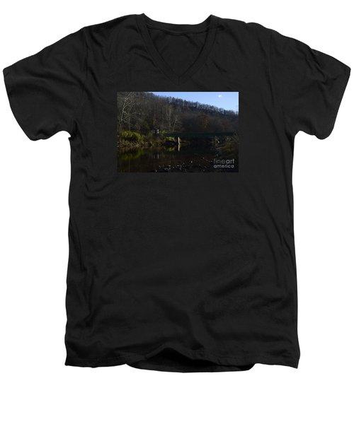 Dry Fork At Jenningston Men's V-Neck T-Shirt