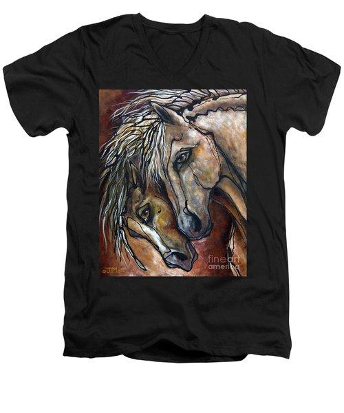 Duet Men's V-Neck T-Shirt