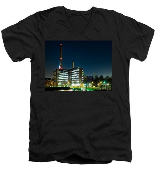 Duisburg Thyssen Krupp Factory Apostel Street Men's V-Neck T-Shirt
