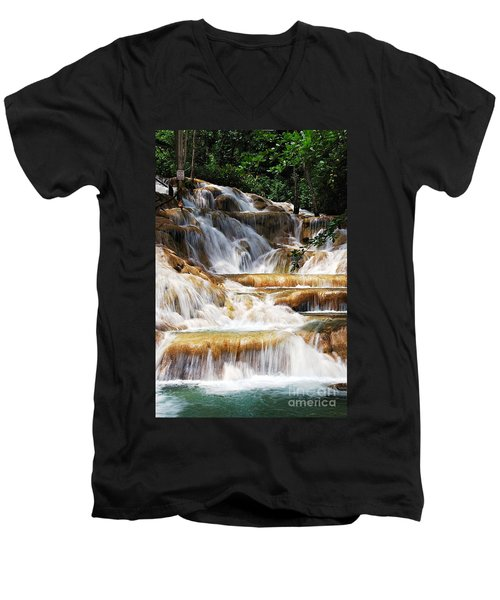 Dunn Falls _ Men's V-Neck T-Shirt