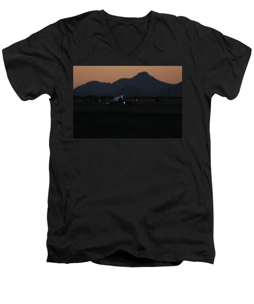 Dusk Return Men's V-Neck T-Shirt