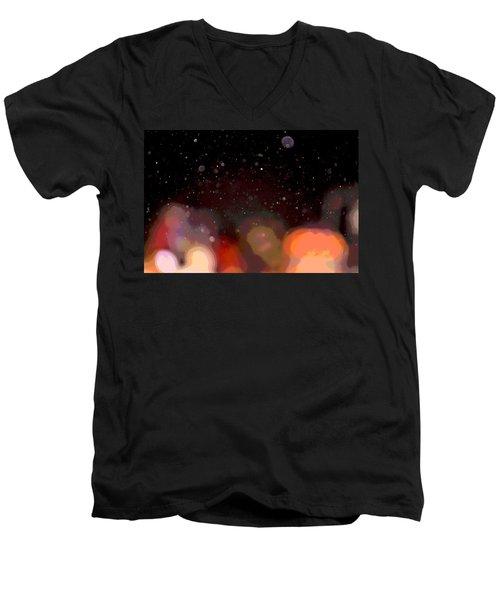 Dust And Bright Lights Men's V-Neck T-Shirt