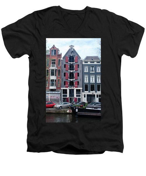 Dutch Canal House Men's V-Neck T-Shirt