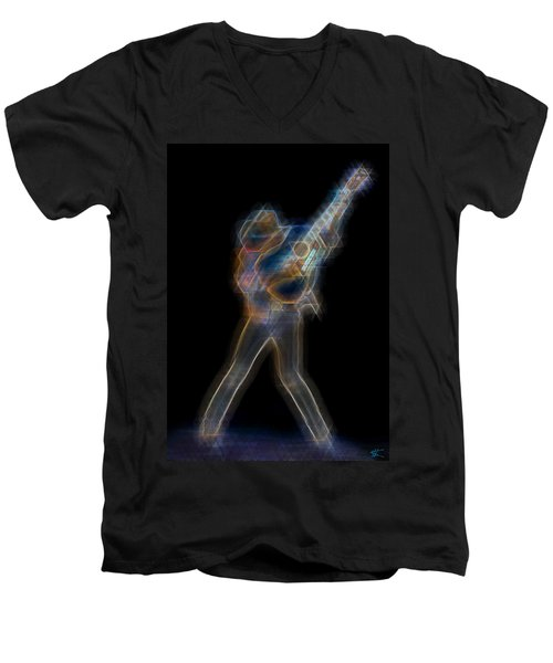 Dwight Noise Men's V-Neck T-Shirt