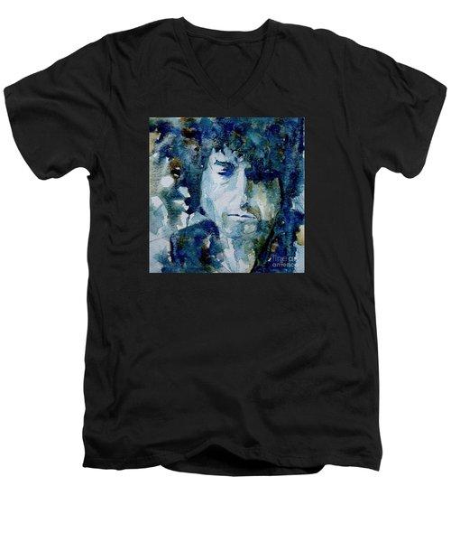 Dylan Men's V-Neck T-Shirt by Paul Lovering