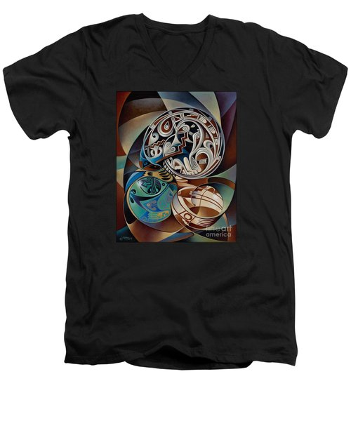 Dynamic Still Il Men's V-Neck T-Shirt