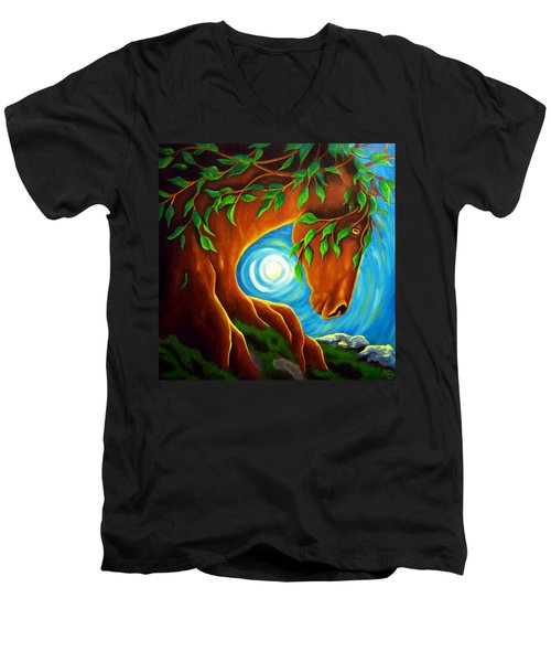 Earth Elder Men's V-Neck T-Shirt