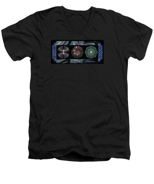 Earth's Beginnings Men's V-Neck T-Shirt