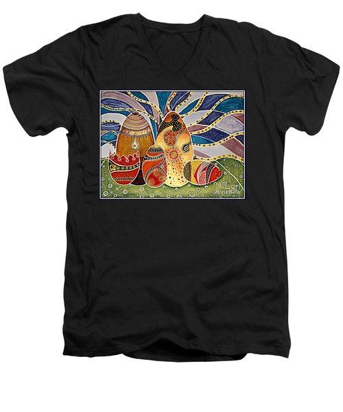 Easter Eggstravaganza Men's V-Neck T-Shirt