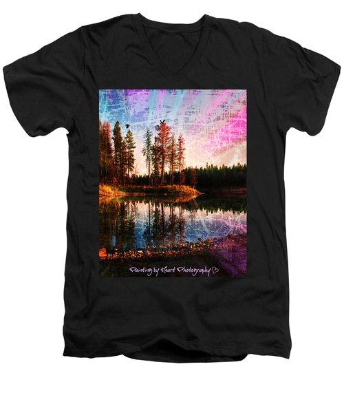 Echo Lake Men's V-Neck T-Shirt