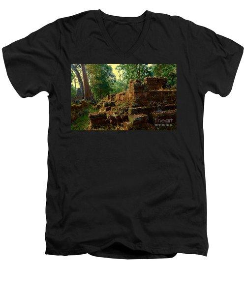 Edge Of Ruin Men's V-Neck T-Shirt