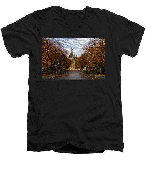 Edinburgh's Fettes College Men's V-Neck T-Shirt