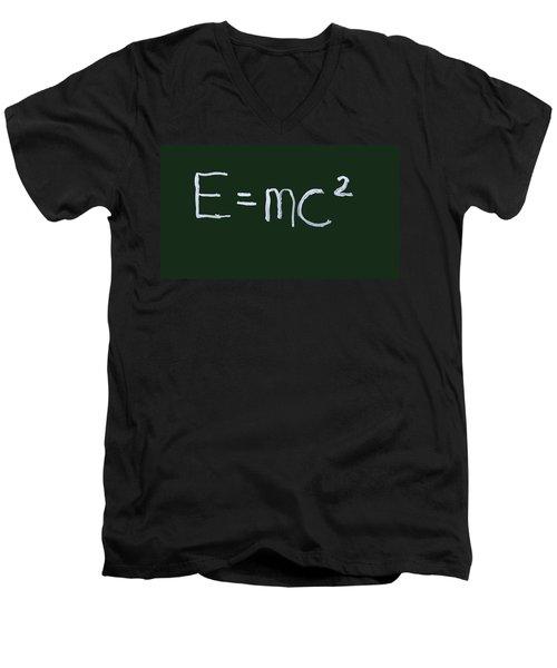 Einstein Formula Men's V-Neck T-Shirt