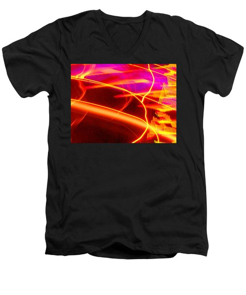 Electra Ride Men's V-Neck T-Shirt