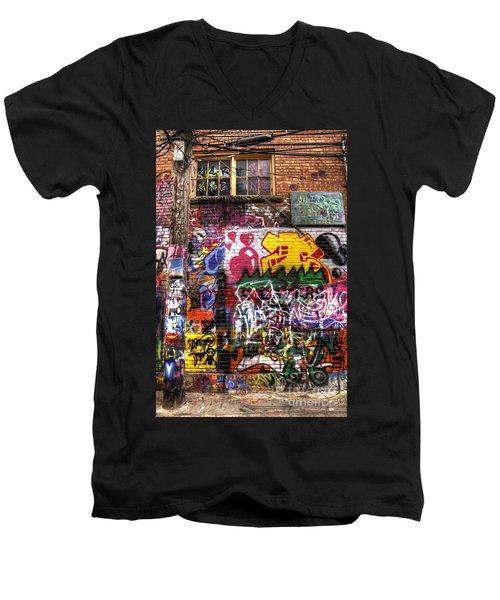 Electric Feel Men's V-Neck T-Shirt