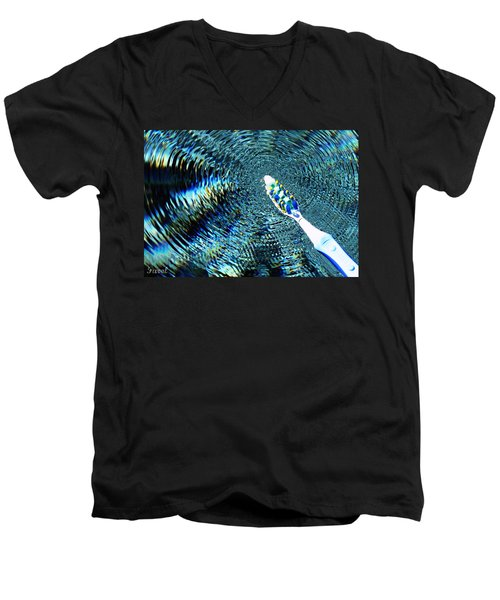Electric Toothbrush Men's V-Neck T-Shirt