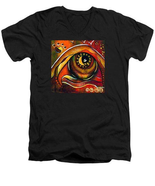 Elementals Spirit Eye Men's V-Neck T-Shirt by Deborha Kerr