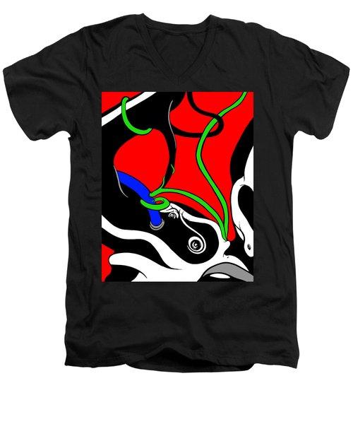 Elephant Titus Men's V-Neck T-Shirt