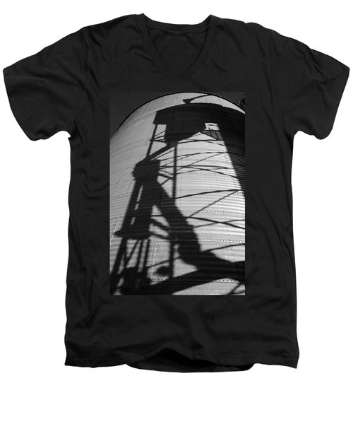 Elevator Shadow Men's V-Neck T-Shirt
