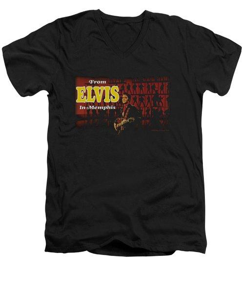 Elvis - From Elvis In Memphis Men's V-Neck T-Shirt