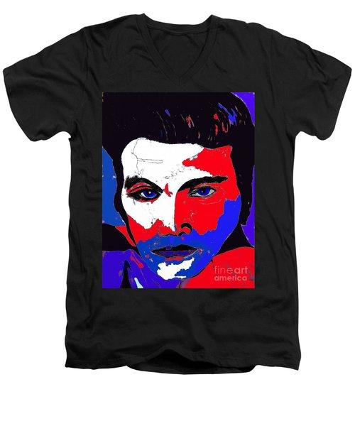 Elvis Made In The U S A Men's V-Neck T-Shirt