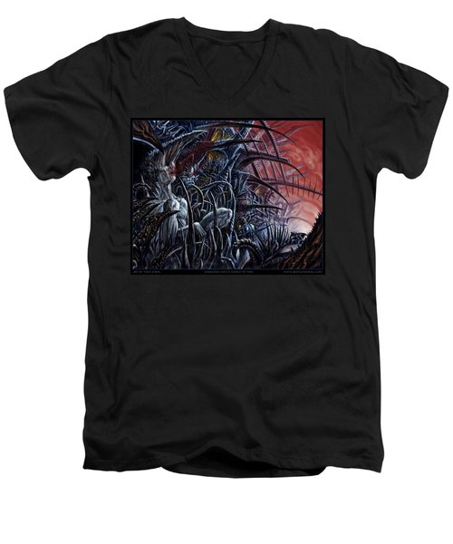 Embedded Into A World Of Pain Men's V-Neck T-Shirt