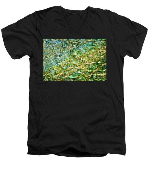 Emerald Water Men's V-Neck T-Shirt